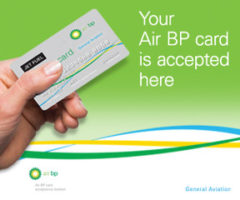 Air BP Sterling Card Accepted.