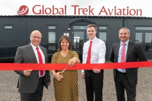 Global Trek Aviation officially opens at Cardiff Airport