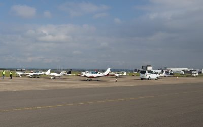Supporting Cardiff Airport Charity Fly In
